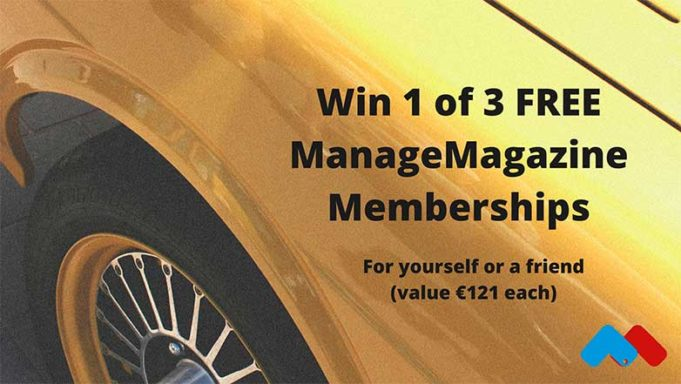 Win FREE ManageMagazine Membership