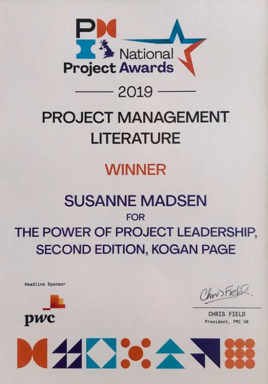 Project-Leadership-Award