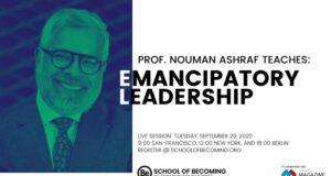 Nouman Ashraf Emancipatory Leadership webinar series on Inclusive activities