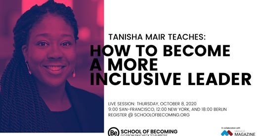 Tanisha Mair How to become a more inclusive leader